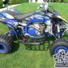 Yamaha YFZ450R Black / Blue